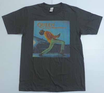 【Mr.17】QUEEN 皇后樂團 Bohemian 波希米亞狂想曲 短袖樂團 刷舊復古風T恤 (BR054)