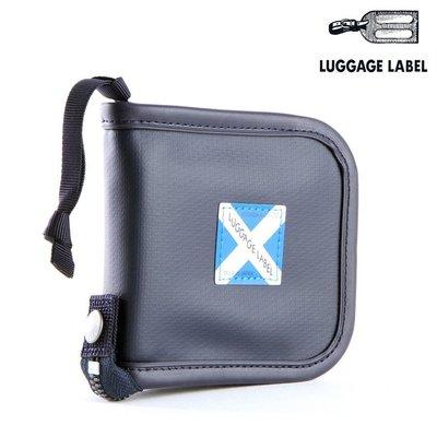 『小胖吉田包』 藍色預購 日本 吉田 LUGGAGE LABEL NEW LINER 短夾 ◎960-09292◎免運
