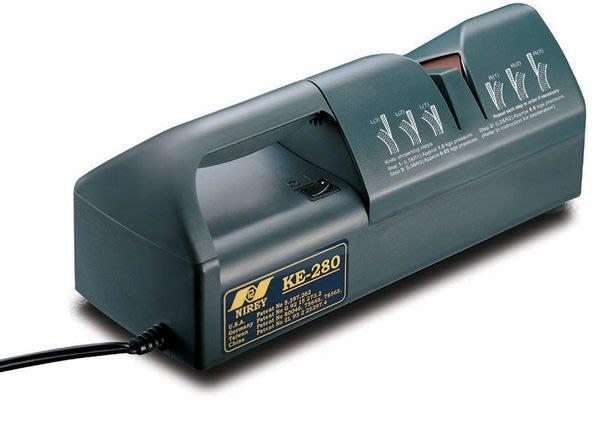 耐銳磨刀機  KE-280  KE280  工業用電動磨刀機-磨刀30秒搞定-台灣製