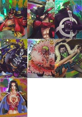 海賊王 AR 遊戲卡 遊戲咭 超級稀有 One Piece Formation P03 HK Ver 黑鬍子 漢考克 克洛克達爾 多佛朗明哥 摩利亞 大熊 鷹眼