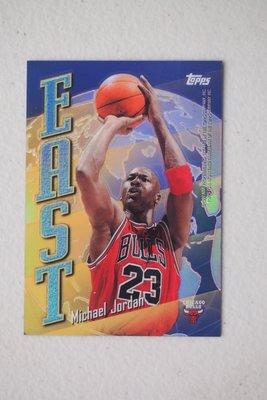 1998-99 Topps East/West Refractors #EW5 Michael Jordan/Kobe