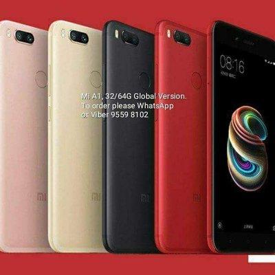 Xiaomi 小米 Mi A1, 4G RAM 64G ROM, Global Version. 4 colors !