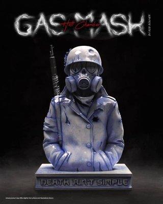 [FDOF] 預購 Mighty Jaxx Gas Mask (Hell Chamber)by Rob Bowyer 線香座