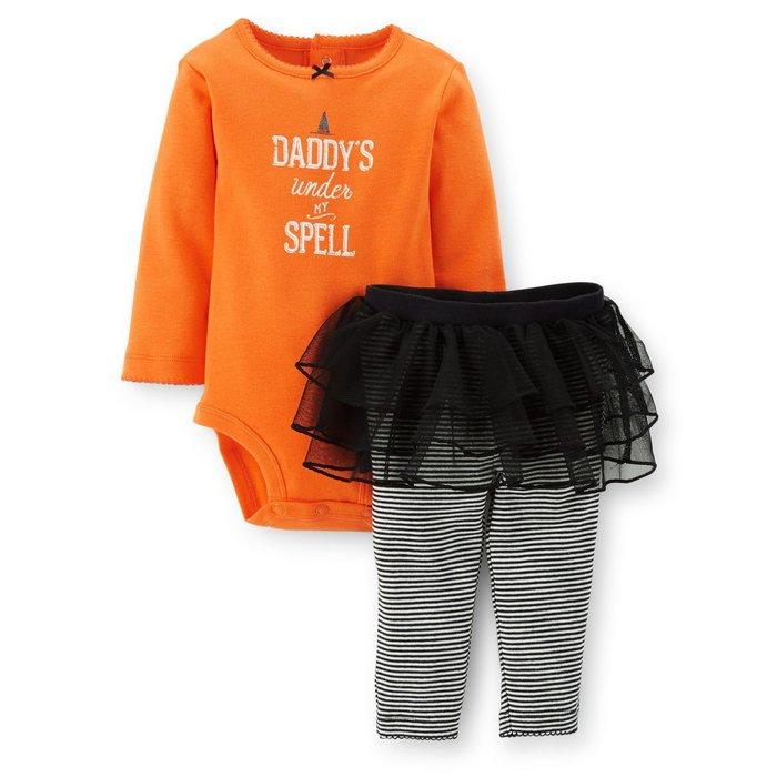 【Nichole's歐美進口優質童裝】Carter's 長袖包屁衣+蓬蓬褲裙二件組*Old Navy/OshKosh