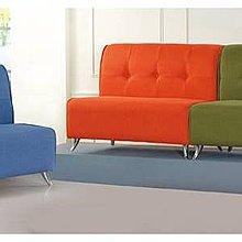【EC910-903】 903型雙人沙發椅(藍、紅、綠)