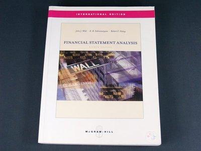 【懶得出門二手書】《Financial Statement Analysis》McGraw-Hill│John J. Wild│九成新(32Z43)