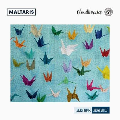 拼圖世家Maltaris正版授權Cloudberries英國進口拼圖 ORIGAMI 紙鶴 1000片