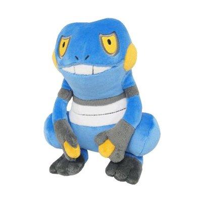 尼德斯Nydus~* 日本正版 神奇寶貝 精靈寶可夢 Pikachu 皮卡丘 絨毛玩偶 娃娃 不良蛙 約16cm