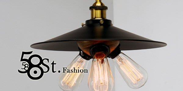 【58街】loft風格設計師款式「Black dancers 黑舞者吊燈」美術燈。複刻版。GH-397