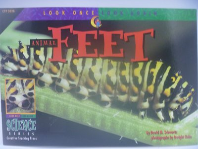 【月界】Animal Feet-Look Once,Look Again Science Series〖少年童書〗CER