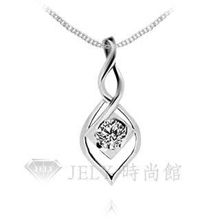 《JELY時尚館》【JELY Diamond】Wonderland---3分天然真鑽石項鍊 §會員終生獨享交換維修優惠§