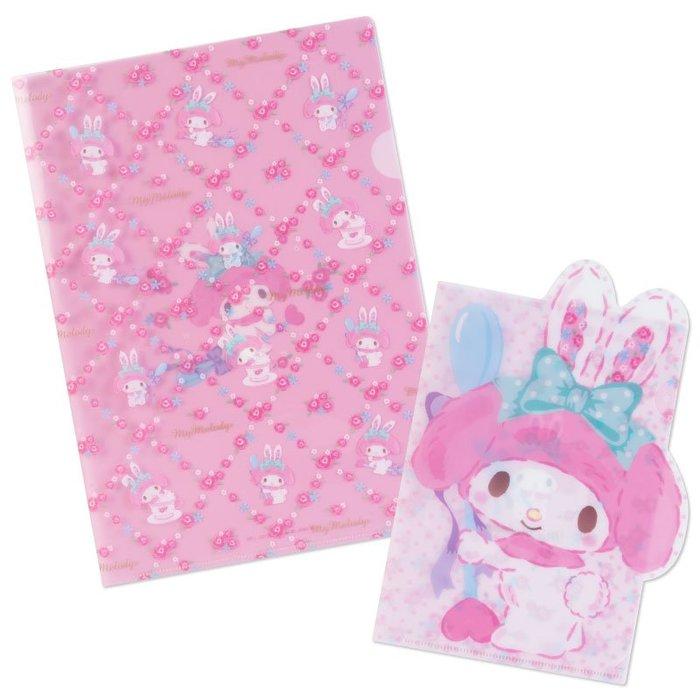41+U 美樂蒂-兔 日本製 文件夾 4901610821558下標前請詢問