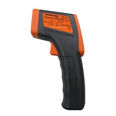 TECPEL 泰菱 》TENMARS TM-301 TM301 紅外線溫度計 非接觸式溫度計 測溫槍( TM-300 替代)
