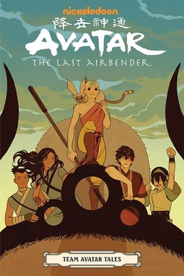 【布魯樂】《3月預購中》[美版書籍]《降世神通:最後的神宗》原文漫畫:Team Avatar Tales