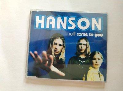 【鳳姐嚴選二手唱片】 HANSON 韓氏兄弟 / 單曲:I will come to you