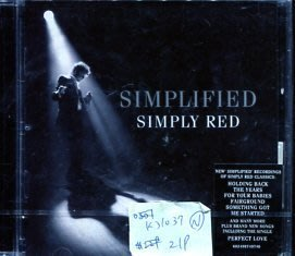 *真音樂* SIMPLIFIED / SIMPLY RED 全新 K31037