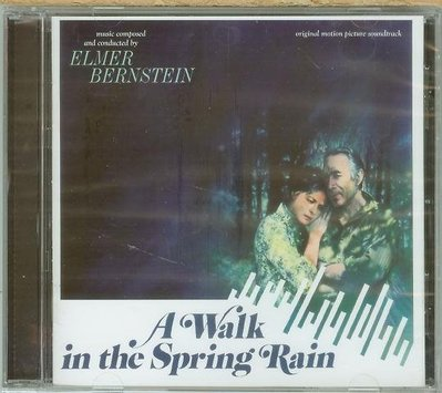 "[原聲帶]-""A Walk In The Spring Rain""- Elmer Bernstein(81),全新美版"