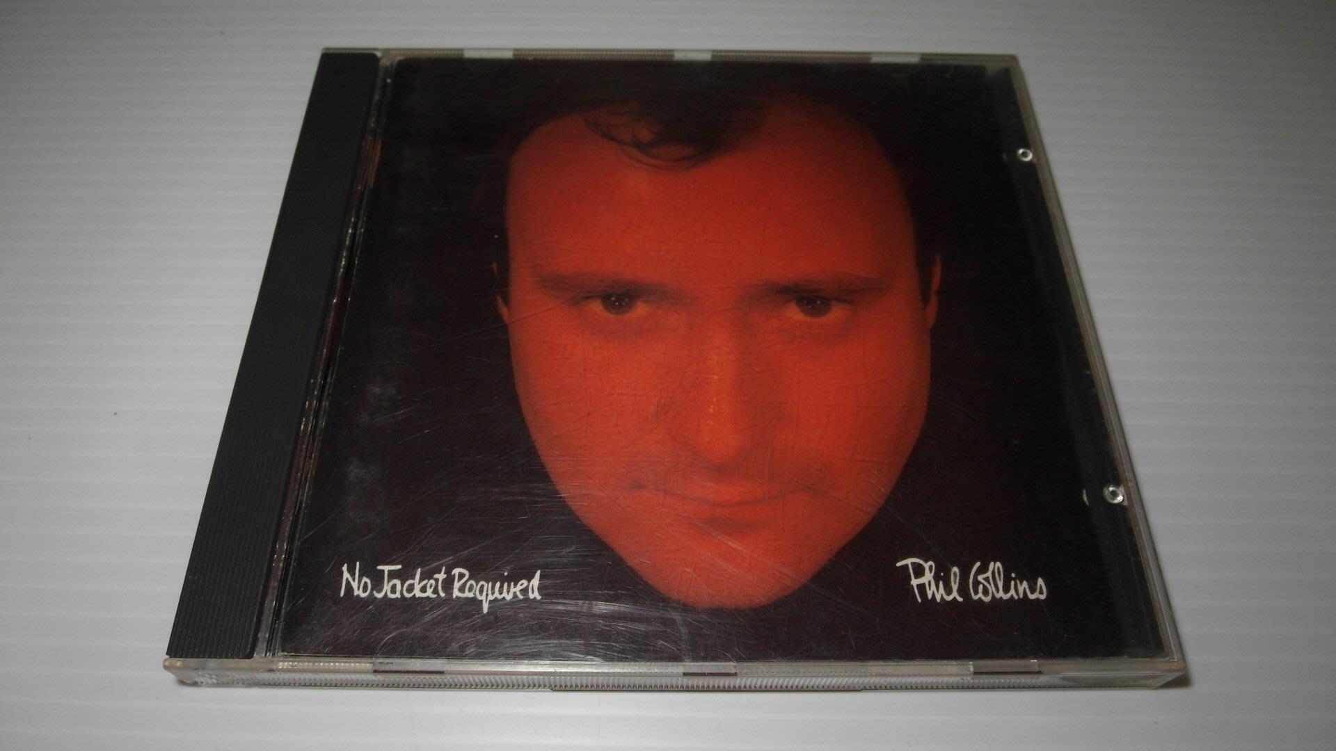 Phil Collins No Jacket Required 菲爾柯林斯 無IFPI 1985 CD 西洋男歌手