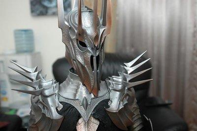 【烏龍1/2】 sideshow ps3 哈比人歷險記 死靈法師 魔戒  黑暗魔君 Sauron 索倫 1:4 雕像 限量版