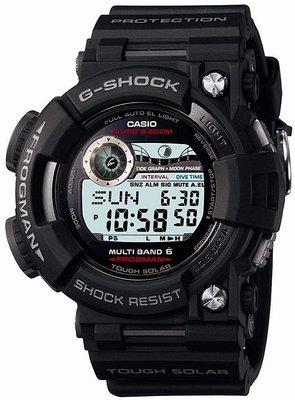 日本正版 CASIO 卡西歐 G-SHOCK GWF-1000-1JF 太陽能充電 潛水錶 手錶 電波錶 日本代購