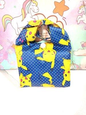 【現貨】寶可夢皮卡丘手提購物袋