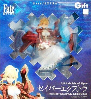 日本正版 Gift Fate/EXTRA 紅Saber 尼祿 1/8 公仔 模型 日本代購