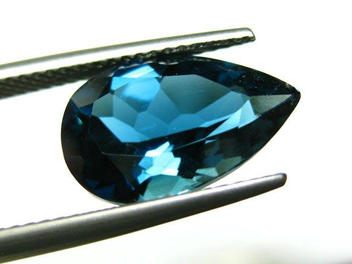 【Texture & Nobleness 低調與奢華】天然寶石 倫敦藍托帕石 5.3克拉