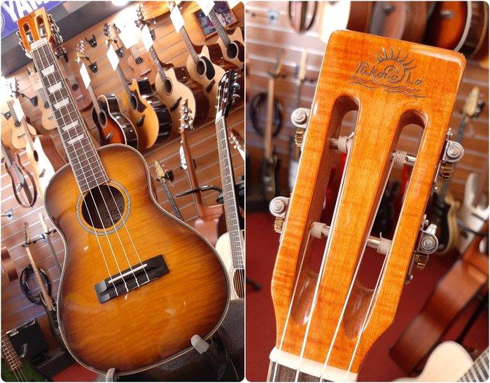 ♪♪學友樂器音響♪♪ PukanaLa PFM3-VS 虎紋楓木 烏克麗麗 26吋 漸層 古典琴頭