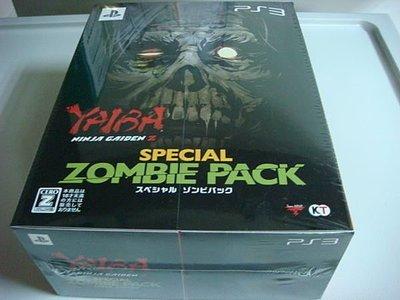 遊戲殿堂~PS3『YAIBA 忍者外傳Z殭屍特別包』日限定版全新品