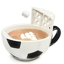 【丹】A_The Soccer Mug With A Goal 足球 門框 造型 馬克杯
