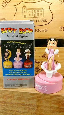 Brtty Boop/貝蒂娃娃音樂鈴:貝蒂娃娃 收藏 卡通 懷舊 音樂鈴 公仔 玩偶 居家 設計 禮品