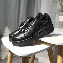 D-BOX NIKE AIR FORCE 1 AF1 鐵牌 皮革 低筒 黑色 黑勾 配色 全白 休閑鞋 百搭鞋