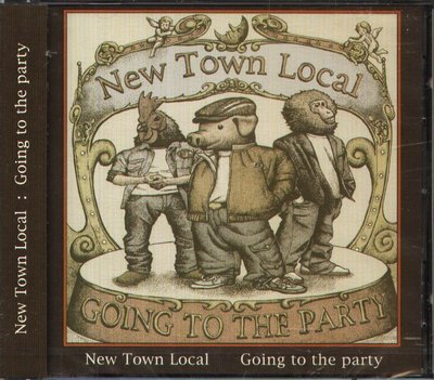 K - New Town Local - GOING TO THE PARTY - 日版 - NEW