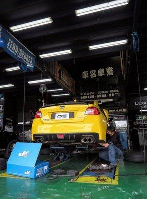 JK Racing 避震器《道路版》SUBARU WRX 高低軟硬可調 保固一年 可加購魚眼上座