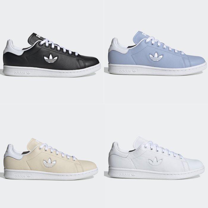 Washoes adidas Stan Smith 黑BD7452 白BD7451 藍CG6793 卡其色CG6794