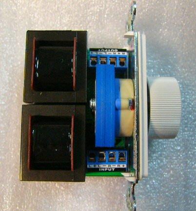 【昌明視聽】ELEMENT 12段喇叭音量控制器 (面板無螺絲孔設計)  高階HI FI立體聲擴大機適用