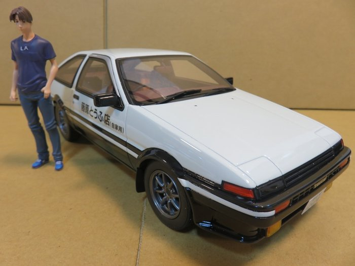 =Mr. MONK= Kyosho Toyota Sprinter Trueno AE 86 頭文字D 劇場版限定