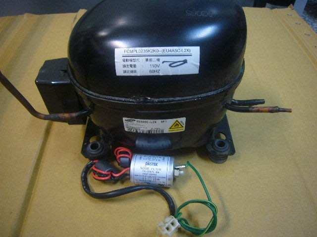 聲寶580L雙門變頻電冰箱壓縮機 SR-K58D/SRK58D