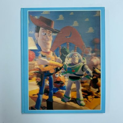 Toy Story 反斗奇兵 - The Art and Making of the Animated Film 1995出版,第一版 3D 硬皮面 迪士尼