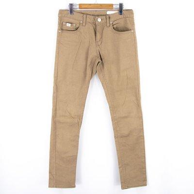 【品牌競區】Upset Jeans 韓國製 / 卡其 / 微彈 / 牛仔長褲 / 30腰 ~ 5V126