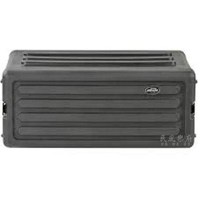 《民風樂府》美國  SKB Roto-Molded 4U R4S 纖維機櫃箱 無線麥克風主機 效果器 器材箱 全新公司貨