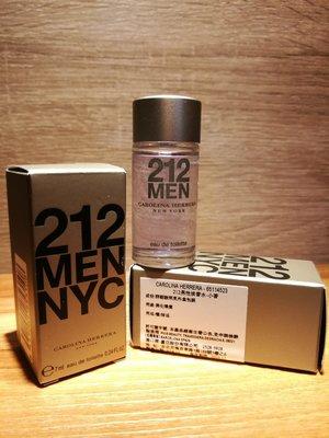 ❥戀香水➻Carolina Herrera 212 MEN都會 男性淡香水 7ML