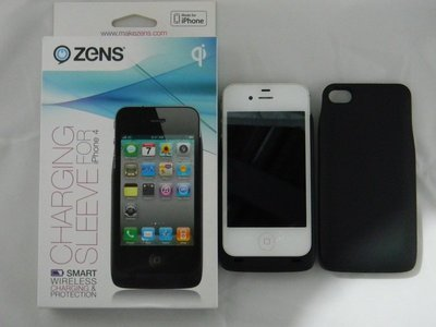 【ZENS】QI 無線充電背蓋 蘋果 i4/i4s 三星Note2 三星S4 出清價99元