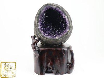 納財聚氣-烏拉圭紫晶洞  淨重:6.3kg 【吉祥水晶專賣店】編號AZ98