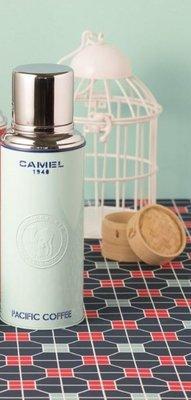 Pacific coffee x 駱駝牌 聖誕版保溫壺 保温瓶 保暖壺  Camel Flask 薄荷綠色
