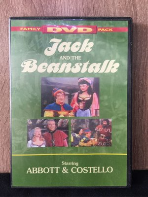 [M088-1] Jack and the Beanstalk starring ABBOTT & COSTELLO DVD
