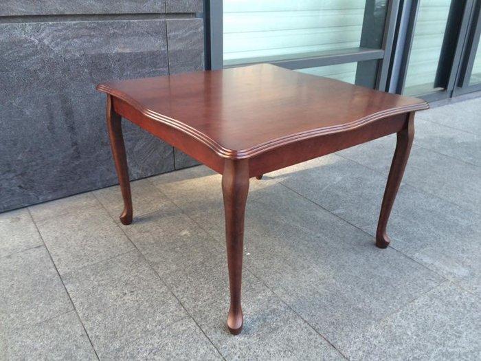 【Sole法鄉村方桌】(全實木) 外銷單 實木 餐桌*飯桌*咖啡桌*簡餐桌*方桌*團圓桌*麻將桌