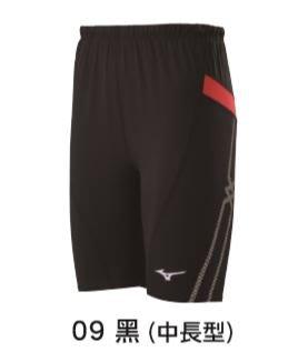 【一軍運動用品-三重店】MIZUNO  美津濃  緊身褲 U2TB0G0409 (中長