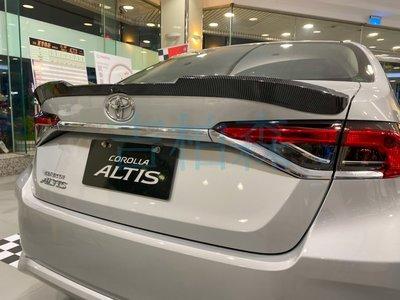 (吉柏森)TOYOTA ALTIS 12代 阿提斯 擾流板 尾翼 壓尾翼 碳纖維紋 卡夢 壓尾 鴨尾 改裝 運動化