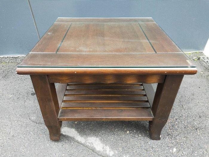 非凡二手家具 復古實木方形小茶几*和室桌*茶几桌*客廳桌*沙發桌*矮桌*泡茶桌*餐桌*造型桌*邊桌